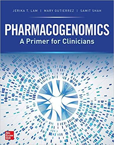 Pharmacogenomics: A Primer for Clinicians. 표지이미지